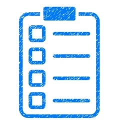 Examination Grainy Texture Icon vector