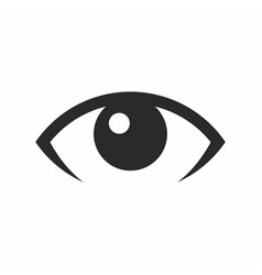 eye look vision icon vector image