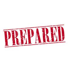 Prepared vector
