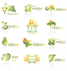 Set of logo vector