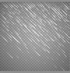 transparent rain image rainy cloudy vector image