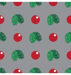 Christmas and New Year hand-drawn pattern vector image