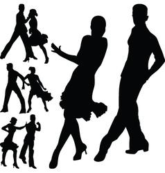 dance people vector image vector image