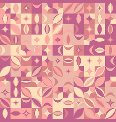 Abstract random curved shape pattern background vector