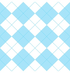 Blue White Diamond Background vector image