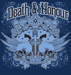 Death and honour vector
