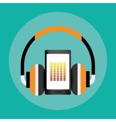 Download music online vector image
