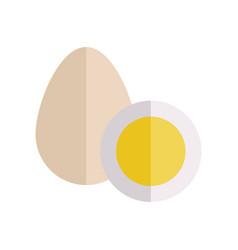 Eggs in flat style design vector