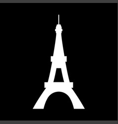 eiffel tower it is icon vector image