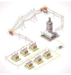 Energy 13 Infographic Isometric vector