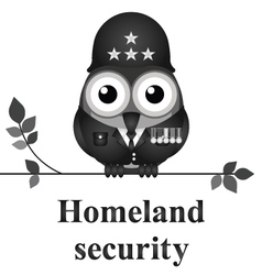 Homeland security vector