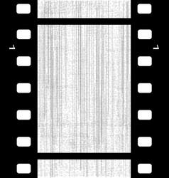 Old blank film frame vector