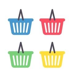 Basket icon vector image