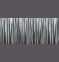 colorful naturalistic gradient gray curtains vector image vector image