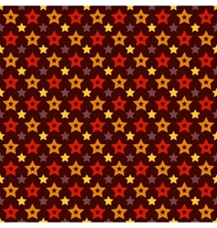 holiday triumph star shape seamless pattern tiling vector image
