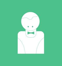 Icon casino delar silhouette vector