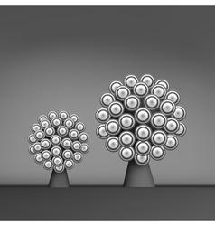 3d Abstract Tree Leadership vector