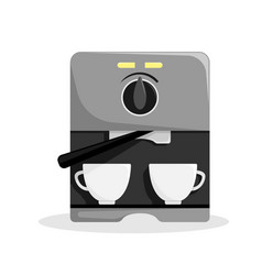carob coffee machine for home vector image