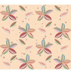 Floral Abstract Background pattern vector