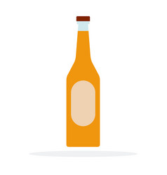 fruit liqueur flat material design isolated vector image