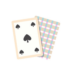 game card icon vector image