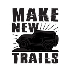 Make new trails best for print design like vector