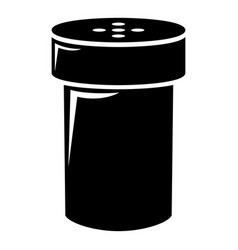 salt shaker icon simple style vector image