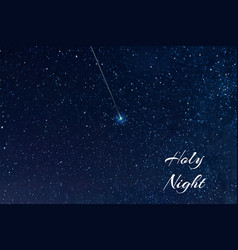 starry sky elements of this furnished by nasa vector image