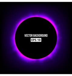 Abstract eclipse background vector