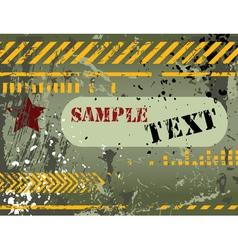 Army navy grunge background vector