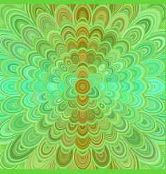 abstract digital flower mandala art background - vector image vector image