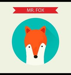 mrfox vector image vector image