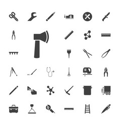 33 tool icons vector