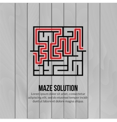 Abstract maze logo Logo icon concept vector