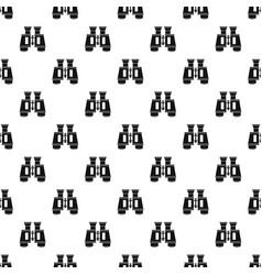 binoculars pattern vector image