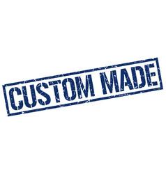 custom made stamp vector image