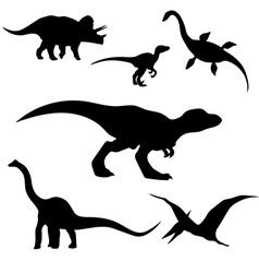 dinosaurusSet vector image