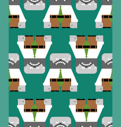 fatigue pattern seamless tired worker office vector image