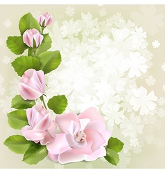 Floral spring background1 vector