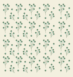flower seamless pattern design for background vector image