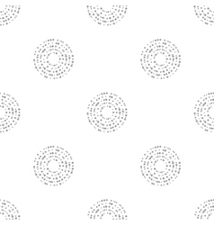 interlocking circles repeat tile pattern vector image