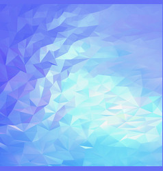 light blue pink abstract triangular background vector image