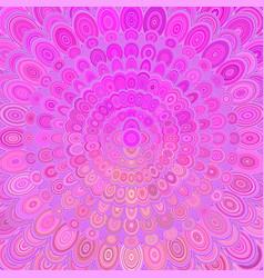 Pink abstract floral mandala background - digital vector
