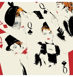 Playing card Poker Casino vector image