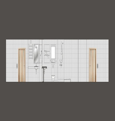 05 Residential Interior V vector image vector image