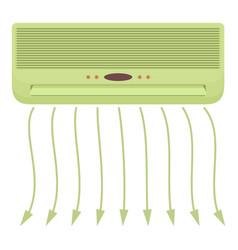 Conditioner icon cartoon style vector