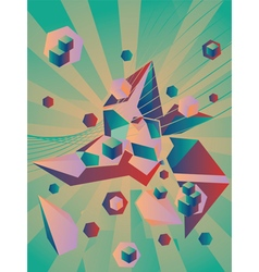 Geometric abstraction2 vector