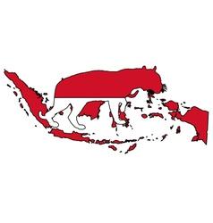 Indonesia tiger vector