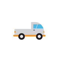 pickup truck transportation icon design template vector image
