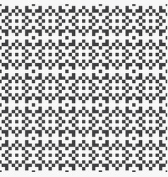 Pixel square seamless pattern vector
